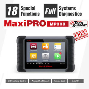 Autel Maxipro Mp808 Obd2 Auto Full system Diagnostic Scan Tool Tablet Key Coding