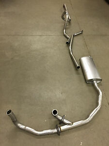 1963 Cadillac Single Exhaust System 304 Stainless With Resonator