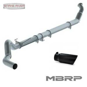 Mbrp 5 Exhaust For 2004 2007 Ram Dodge 2500 3500 Cummins 5 9l With Black Tip