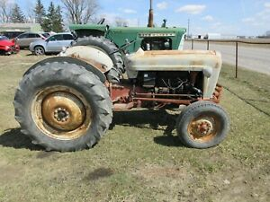 1953 Ford Golden Jubilee Naa Wide Front Tractor All Original Showing 4591 Hours