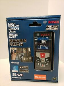 Bosch Laser Measure Blaze Glm 50 Cx 164 Ft 50 M