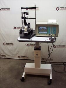 Sonomed A scan A2500 Ophthalmic Ultrasound With Kowa Rc 2 Stand