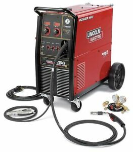 Lincoln Electric K3068 1 Wheeled Mounted Mig Welder Power Mig Series