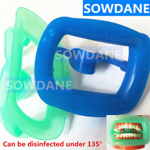 Dental Orthodontic Intraoral Lip Cheek Retractor Mouth Opener Soft Silicone New
