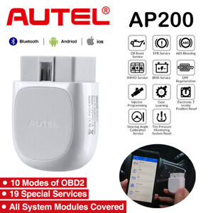 Autel Obd2 Obdii Scanner Bluetooth For Android Ios Car Diagnostic Interface Tool