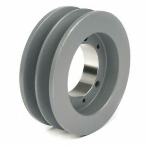 Tb Wood s 682b 1 2 To 1 15 16 Bushed Bore 2 groove Standard V belt Pulley