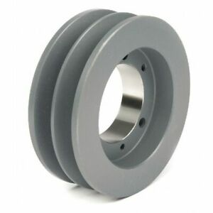 Tb Wood s 522b 1 2 To 1 15 16 Bushed Bore 2 groove Standard V belt Pulley