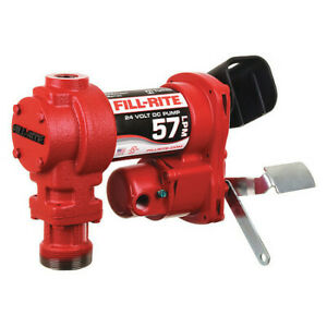 Fill rite Fr2404g Fuel Transfer Pump 15 Gpm 1in Inlet