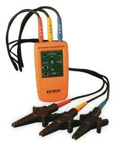 Extech 480403 Phase Motor Rotation Tester 40 600vac