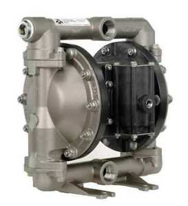 Aro Pd10a ass aaa Double Diaphragm Pump Stainless Steel Air Operated