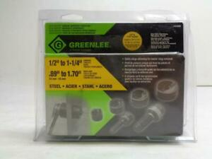 New Greenlee 7235bb 1 2 1 1 4 Conduit Slug Buster Knockout Punch Kit R53