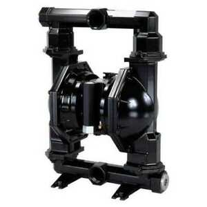 Aro Pd20a aap stt b Double Diaphragm Pump Aluminum Air Operated Ptfe 172 Gpm