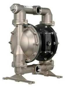 Aro Pd15a ass aaa Double Diaphragm Pump Stainless Steel Air Operated