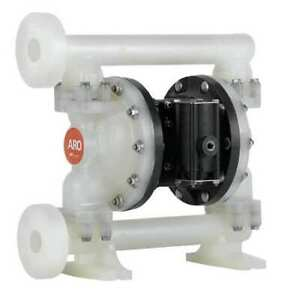 Aro Pd10p fps paa Double Diaphragm Pump Polypropylene Air Operated