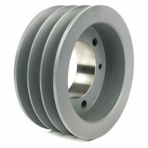 Tb Wood s 663b 1 2 To 1 15 16 Bushed Bore 3 groove Standard V belt Pulley