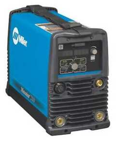Miller Electric 907683 Tig Welder Maxstar 210 Series 120 To 480vac