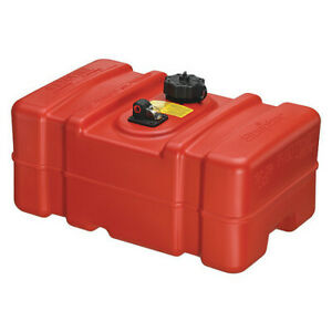Scepter Marine 08667 9 Gal Red Plastic Portable Fuel Tank