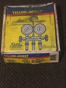 Ritchie Yellow Jacket Test And Charging Manifold Hvac brand New Box Is Worn