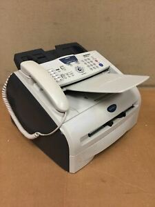 Brother Fax Machine Fax 2920 Page Count 7010 With Toner Working Free Shipping