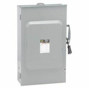 Square D D324nrb 200 Amp 240vac Safety Switch 3pst