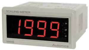 Autonics M4ns na 1 32 Din Scaling Panel Meter
