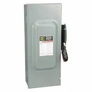 Square D H363 100 Amp 600vac Safety Switch 3pst