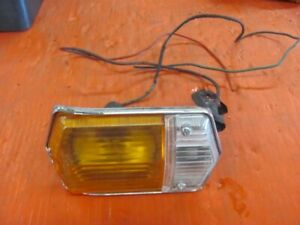 Sunbeam Tiger Alpine Front Turn Signal Lamp With Lenses 63 64 65 66 67 Lucas 2
