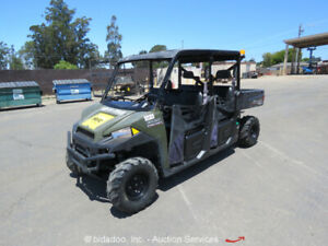 2015 Polaris Ranger 4x4 Utility Dump Bed Cart Atv Diesel 6 Passanger Repair