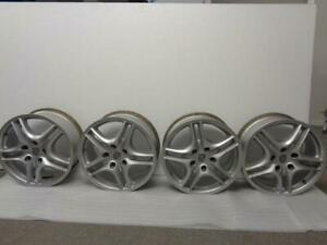 Used Set Of Porsche Cayenne Turbo Wheels 18x8 Offset 57 7l5 601 025 S Sr