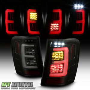 Upgrade W Full Led Black Smoke 1999 2004 Jeep Grand Cherokee Tail Lights Lamps