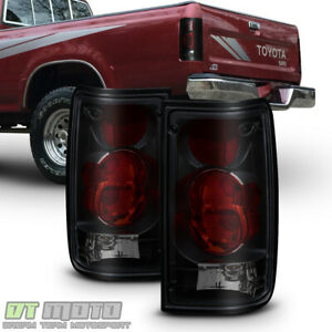 For Black Smoke 1989 1995 Toyota Pickup 2wd 4wd Tail Brake Lights Left Right