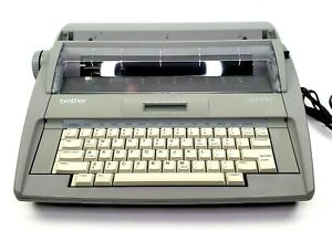 Brother Sx 4000 Electronic Typewriter With Lcd Screen Tested