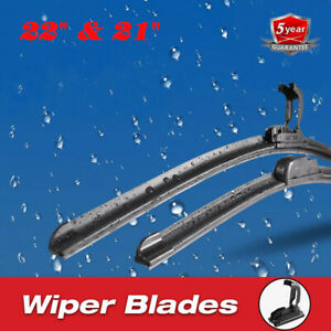 22 21 Oem Premium Windshield Wiper Blades Bracketless Jhook Beam All Season