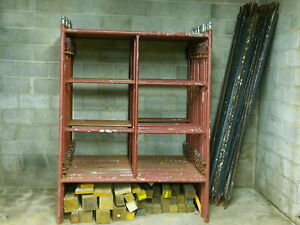 Lot Of Scaffolding With Accessories And Planks