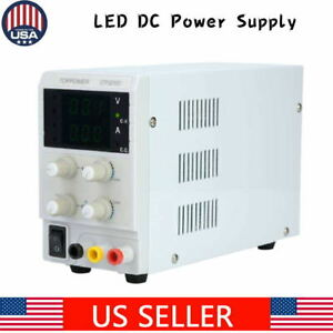 Pro Dc Power Supply Adjustable Switch For Electrical Equipment lab 5 Models