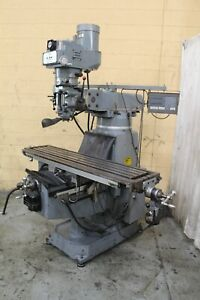 5 Hp Supermax Ram Type Verical Mill Yoder 71888