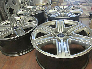 Ford F150 Expedition 20 Inch Factory Original Oem 6 Lug Alloy Wheels Rims 10172