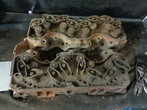 1958 Chevrolet 348 Cylinder Heads 3732791 Dated J157 j2957 58 Only