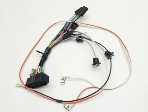 1969 Camaro Center Console Wiring Harness Manual Transmission Gauges Ss Rs
