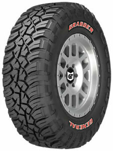 4 New General Grabber X3 Lt33x12 50r18 Tires 33125018 33 12 50 18