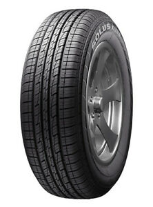 4 New Kumho Eco Solus Kl21 225 65r17 Tires 2256517 225 65 17
