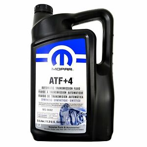 Mopar Automatic Transmission Fluid Atf 4 5 Liter 1 3 Gallon