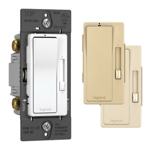 Legrand Radiant Multicolored 450 Watts Slide Dimmer Switch 1 Pk