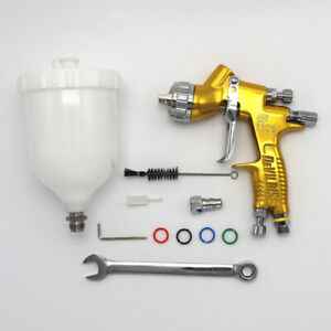 Devilbiss Gti Pro Lite Gold 1 8mm Nozzle Te20 Car Paint Tool Pistol Spray Gun