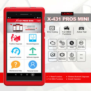 Launch Wi fi bluetooth Diagnostic Tool X431 Pros Mini With All Systems Diagnoses