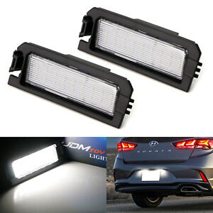 Oe Fit 3w Full Led License Plate Lights For Hyundai Sonata Elantra Veloster Kia