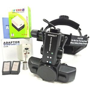 New Rechargeable Binocular Led Indirect Ophthalmoscope With Accessories