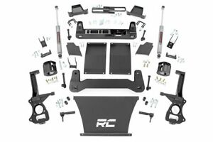 Rough Country 6 Lift Kit fits 19 21 Chevy Silverado 1500 N3 Shocks Knuckles