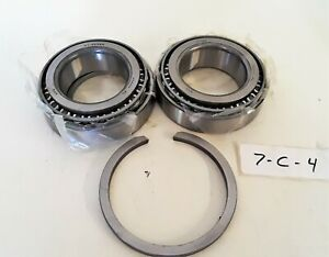 Lot Of 2 Hale Products 250 8040 00 0 G Taper Bearings For 8fgr Pumps