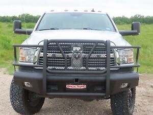 New Ranch Style Front Bumper 10 18 Dodge Ram 2500 3500 Smooth Plate
